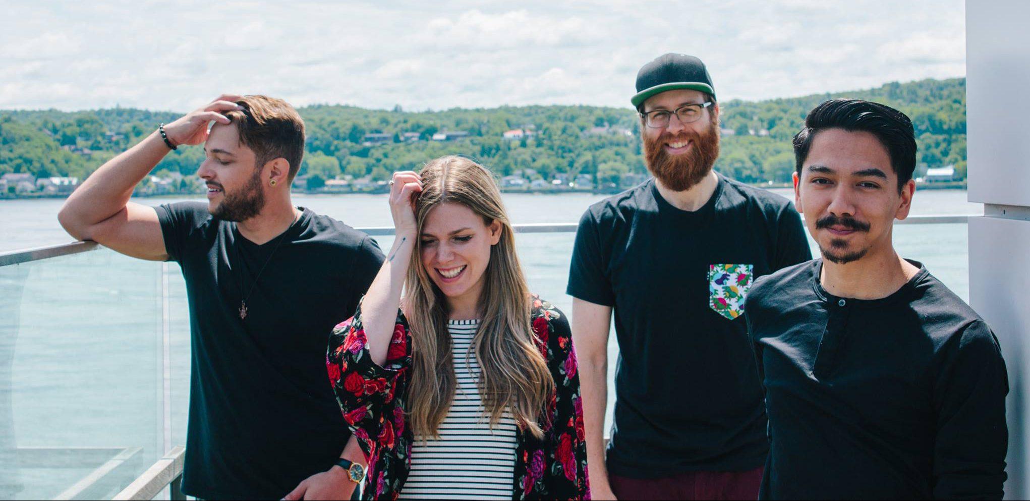 Entrevue avec le groupe Émeraude, pierre précieuse du terroir musical de Québec