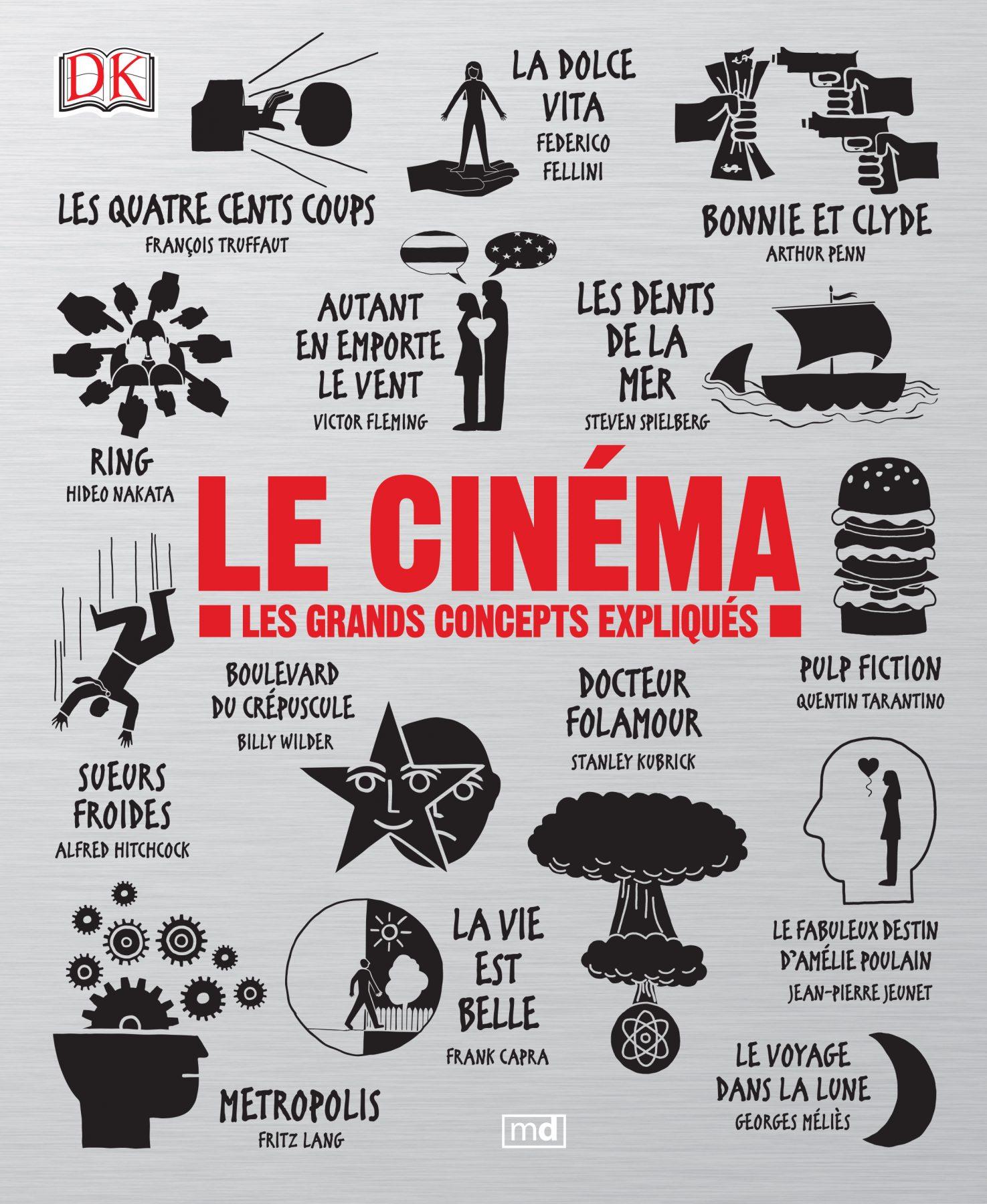 Livre: Le Cinéma – Les grands concepts expliqués