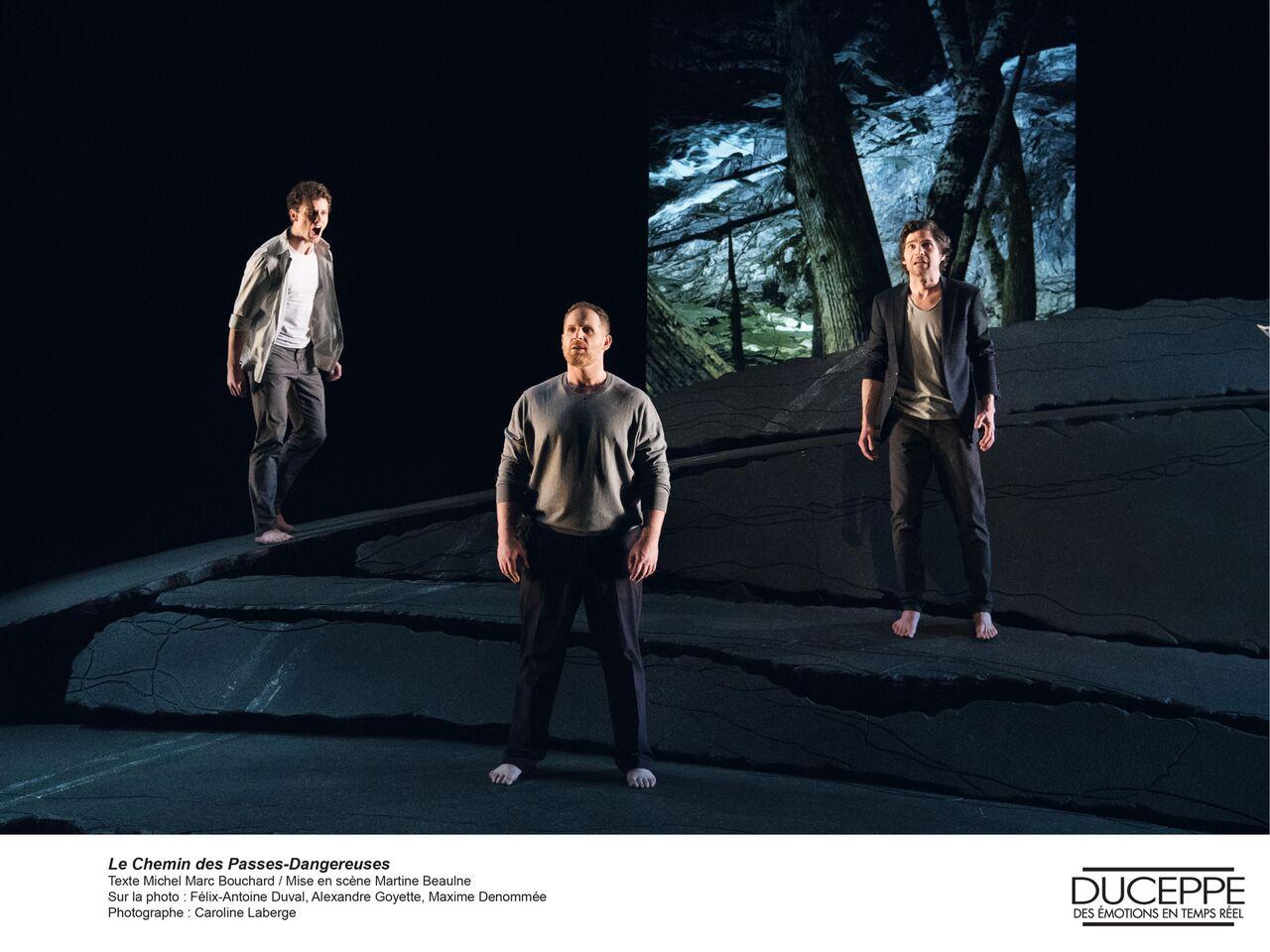 L'excellent Le Chemin des Passes-dangereuses au Théâtre Duceppe