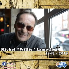 Michel «Willie» Lamothe, est décédé des suites d'une maladie à l'âge de 71 ans.