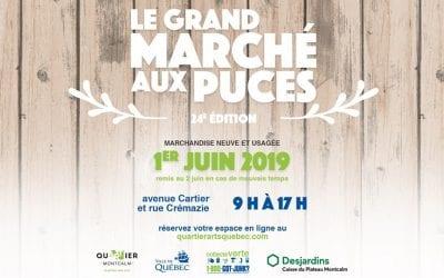 Le Grand Marché aux Puces de Montcalm le 1er Juin