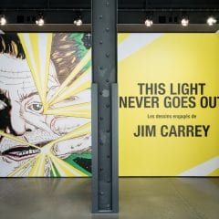This light never goes out – Jim Carrey / Centre PHI