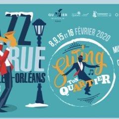 Jazz de rue,la Nouvelle-Orléans sur Cartier pour le Carnaval de Québec !