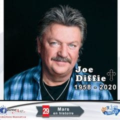 La star Joe Diffie meurt du coronavirus à 61 ans