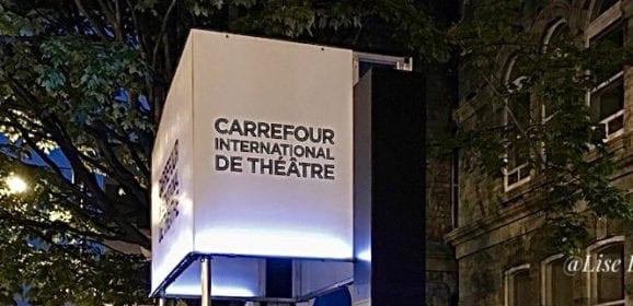 Annulation du Carrefour international de théâtre de Québec 2020