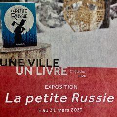 Exposition du livre La petite Russie à la bibliothèque Aliette-Marchand jusqu'au 31 mars 2020
