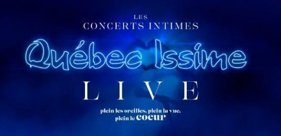 Les concerts LIVE «chasse-grisaille» de Québec Issime