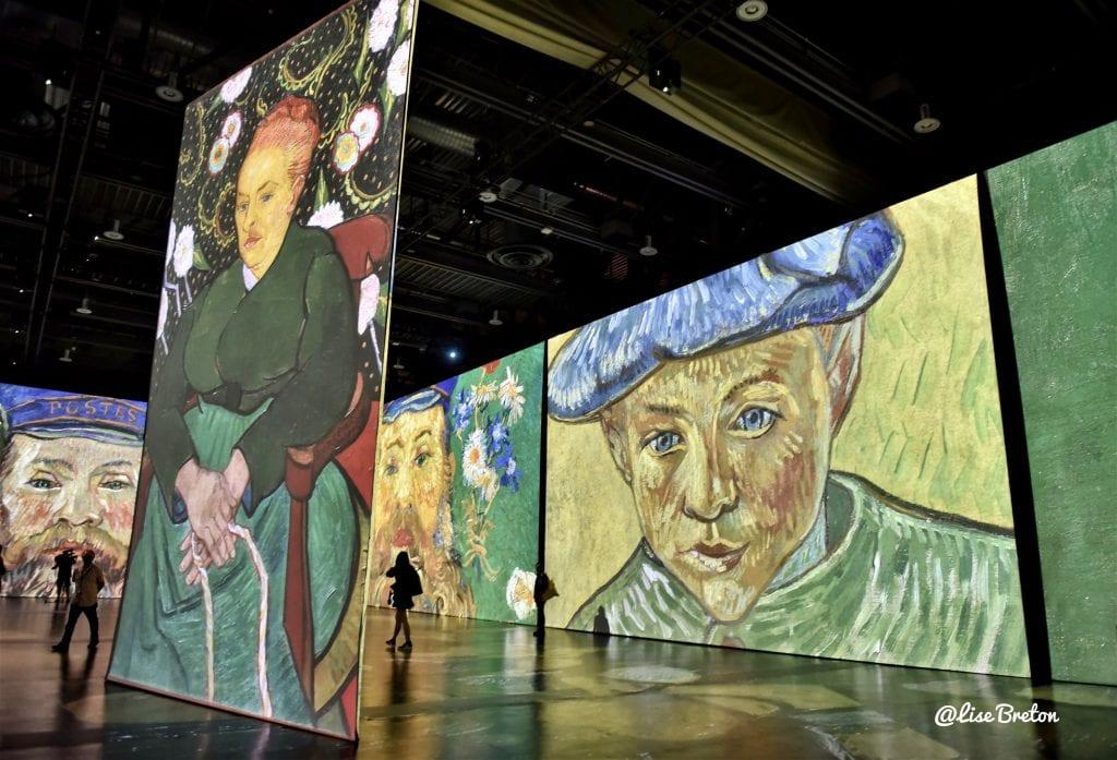 Imagine Van Gogh Exposition Immersive au Centre de Congrès de Québec Photo @Lise Breton