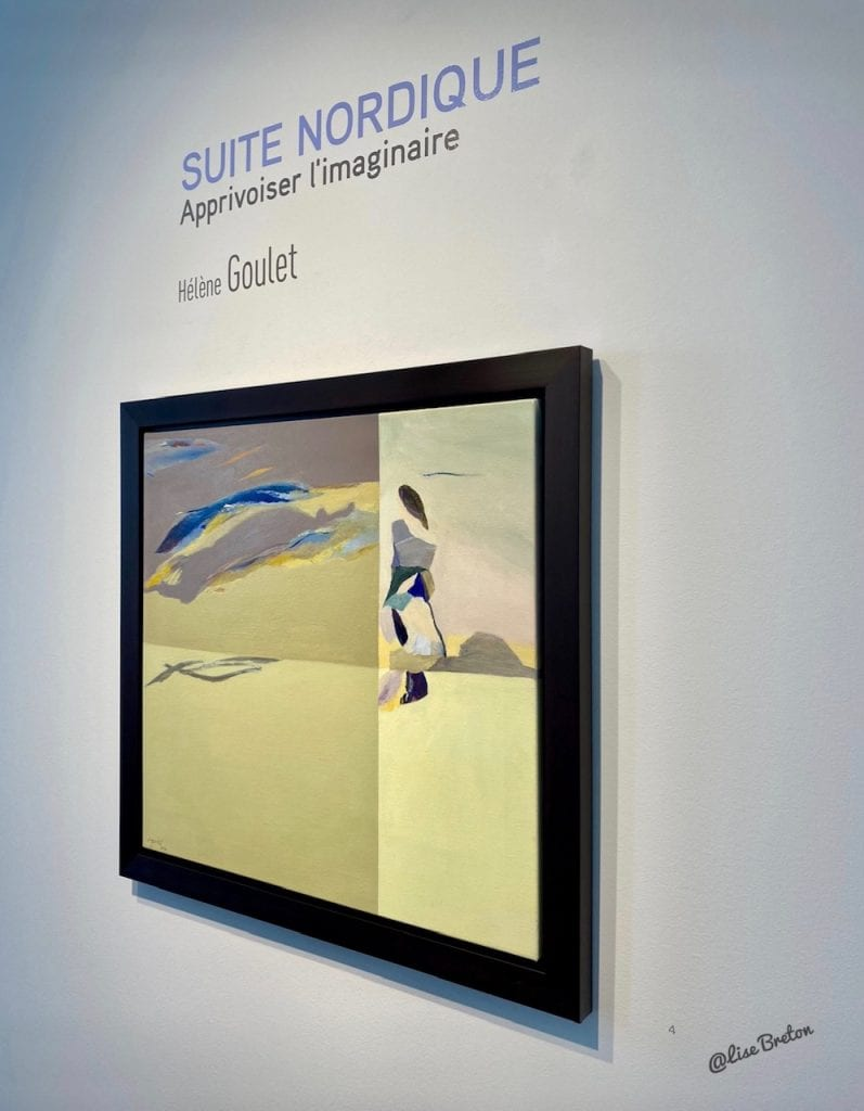 Hélène Goulet SUITE NORDIQUE Apprivoiser l'imaginaire Photo @Lise Breton